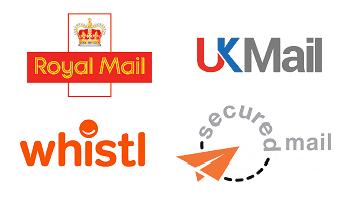 UK Postal Carrier Logos